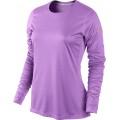 Nike Longsleeve Miler violett Damen