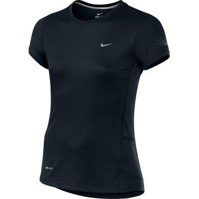 Nike Shirt Miler schwarz Girls