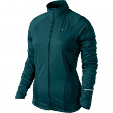 Nike Jacke Shield grünblau Damen
