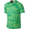 Nike Tshirt Graphic Miler grün Herren (Größe XXL)