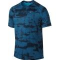 Nike Tshirt Graphic Miler blau Herren (Größe L)