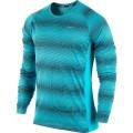 Nike Longsleeve Printed Miler blau Herren
