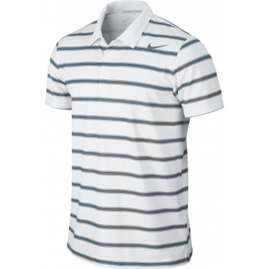 Nike Polo RF Rally Sphere Stripe weiss Herren