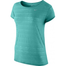 Nike Shirt Dri FIT Touch Breeze Crew grün Damen