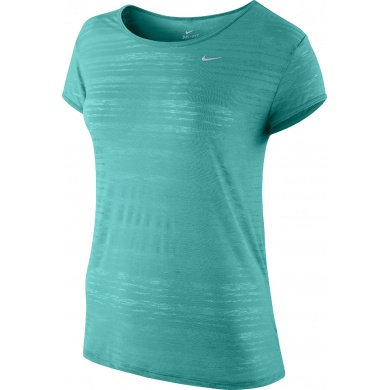 Nike Shirt Dri FIT Touch Breeze Crew grün Damen (Größe S+L)
