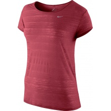 Nike Shirt Dri FIT Touch Breeze Crew geranium Damen