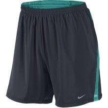 "Nike Short 7"" Distance dunkel obsidian Herren"