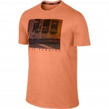 Nike Tshirt Challenger Graphic orange Herren
