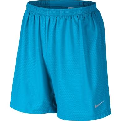 Nike Short 7 Pursuit 2-IN-1 blau Herren (Größe S)