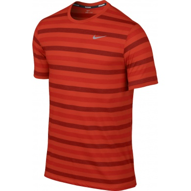 Nike Tshirt DF Touch Tailwind Striped rot Herren