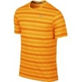 Nike Tshirt DF Touch Tailwind Striped gelb/orange Herren