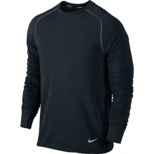 Nike Longsleeve Feather Fleece schwarz Herren