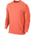 Nike Longsleeve Feather Fleece orange Herren