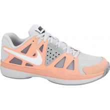 Nike Air Vapor Advantage grau/orange Tennisschuhe Damen (Größe 42,5)