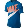 Nike Tshirt Meso Futura Logo blau Boys