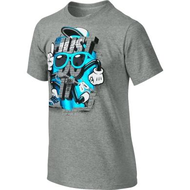 Nike Tshirt JDI Bricks grau Kinder