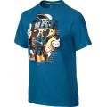 Nike Tshirt JDI Bricks blau Kinder