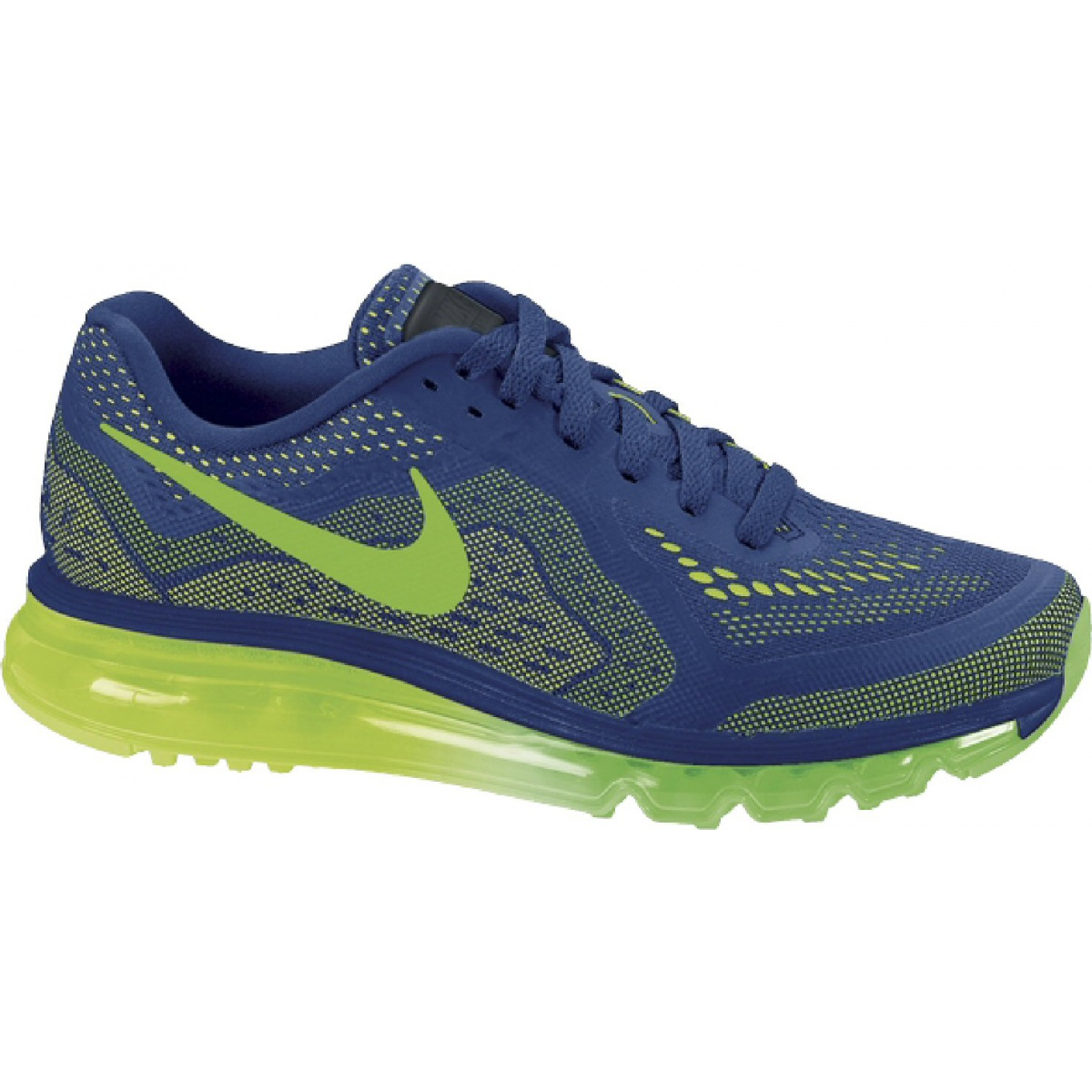 best sneakers 4c37a 279d2 inexpensive nike air max 2014 blau lime laufschuhe herren 2d879 1d577