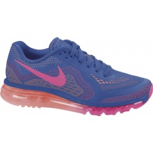 Nike Air Max blau/orange Laufschuhe Damen
