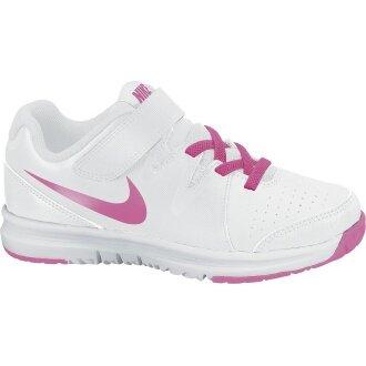 Nike Vapor Court KLETT weiss/pink Tennisschuhe Kinder (Größe 33,5)