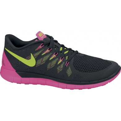 Nike Free 5.0 2014 schwarz/rose Laufschuhe Damen