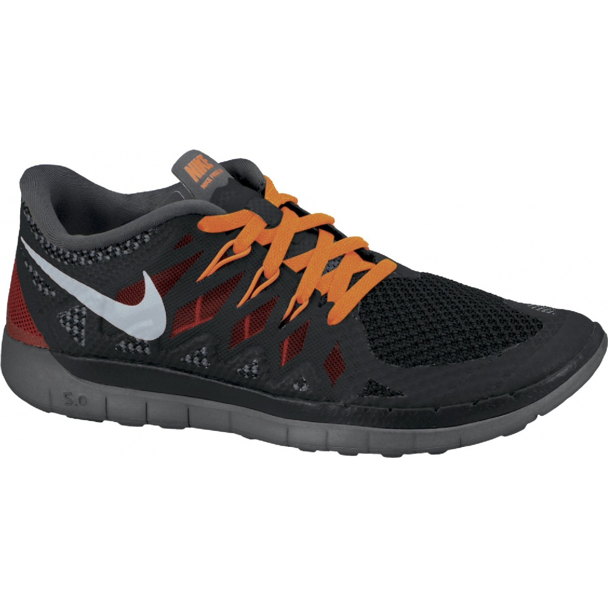 nike free 5 0 2014 schwarz orange laufschuhe kinder online. Black Bedroom Furniture Sets. Home Design Ideas