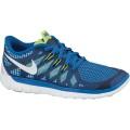 Nike Free 5.0 2014 blau Laufschuhe Kinder (Größe 35,5)