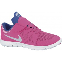 Nike Free 5.0 Klett 2014 fuchsia Laufschuhe Kinder