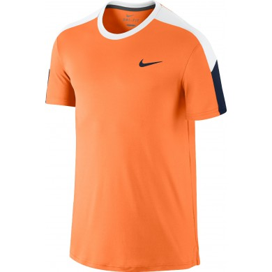 Nike Tshirt Team Court orange Herren (Größe XL)