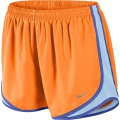 Nike Short Tempo New orange Damen