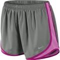 Nike Short Tempo New grau Damen