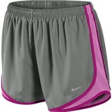 Nike Short Tempo New grau Damen