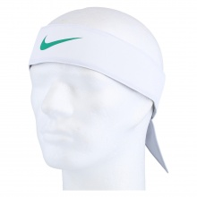 Nike Stirnband Promo weiss/grün