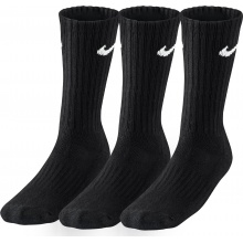 Nike Freizeitsocke Value Cotton Herren schwarz 3er