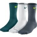Nike Tennissocken Fly Crew sortiert p/w/g 3er Herren