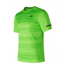 New Balance Tshirt Max Intensity 2017 lime Herren