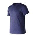 New Balance Tshirt Heather Tech 2017 blau Herren