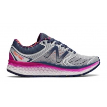 New Balance Fresh Foam W1080 2017 grau/purple Laufschuhe Damen