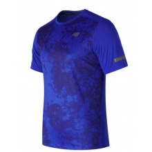 New Balance Tshirt Max Intensity 2017 blau Herren