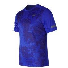 New Balance Tshirt Max Intensity 2017 blau Herren