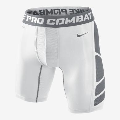Nike Boxer Short Pro Combat Hypercool 2.0 weiss Herren (Größe S)
