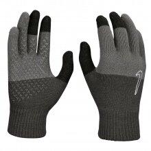 Nike Laufhandschuhe Knitted Tech und Grip Graphic 2.0 schwarz/grau