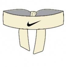 Nike Stirnband Promo Rafael Nadal milchweiss/schwarz - 1 Stück