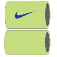 Nike Schweissband Tennis Premier Jumbo lime/royalblau - 2 Stück
