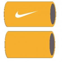 Nike Schweissband Tennis Premier Jumbo US Open orange/weiss - 2 Stück