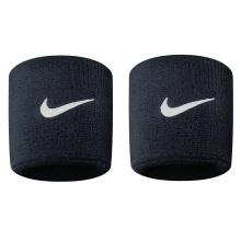 Nike Schweissband Swoosh schwarz 2er