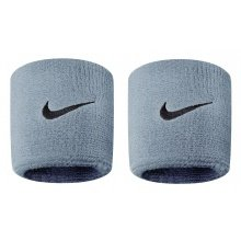 Nike Schweissband Swoosh grau 2er
