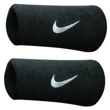 Nike Schweissband Swoosh Jumbo (74% Baumwolle) schwarz - 2 Stück