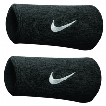 Nike Schweissband Swoosh Jumbo schwarz 2er