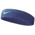 Nike Stirnband Swoosh (70% Baumwolle) royalblau - 1 Stück